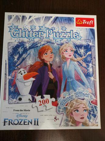 Kraina Lodu II puzzle 200 dla dzieci