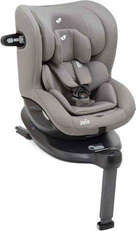 Joie i-Spin 360 - obrotowy fotelik z normą i-Size 0-18 kg Gray Flannel