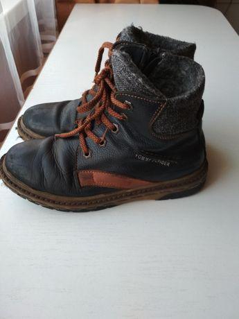 Ботинки зимние кожание