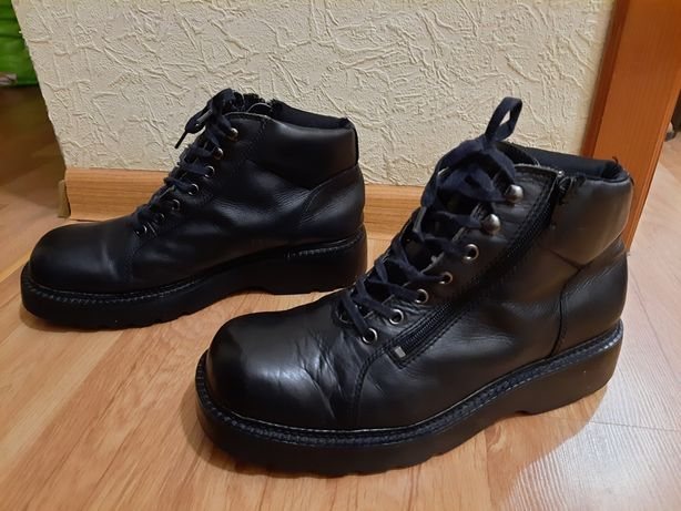 Кожаные ботинки 43р