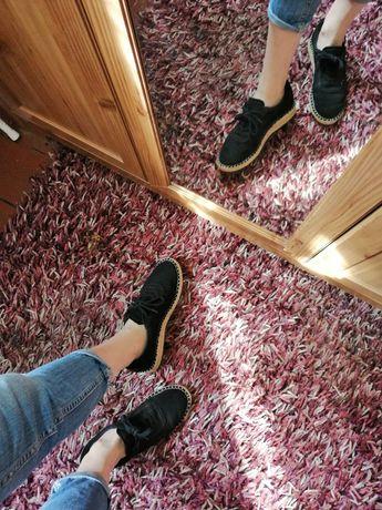 Czarne półbuty/trampki Graceland r. 39