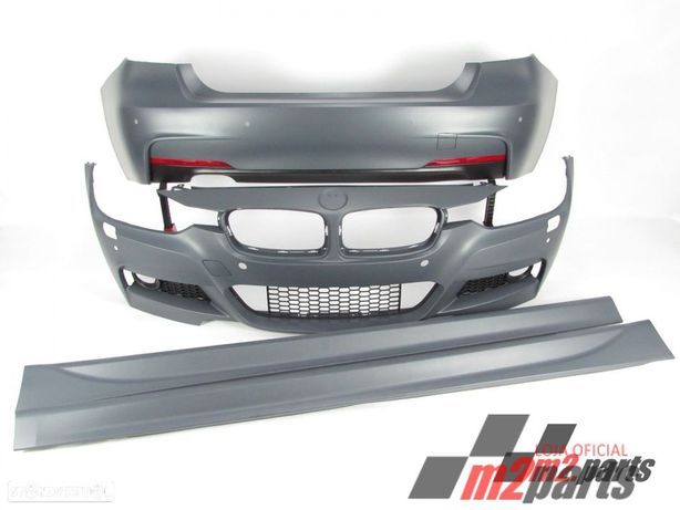 KIT M/ PACK M BMW Serie 3 Carro (F30, F80) BODYKIT COMPLETO ABS Novo