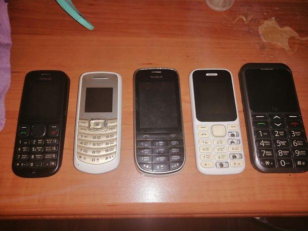 Кнопочные телефоны под восстановление или на запчасти