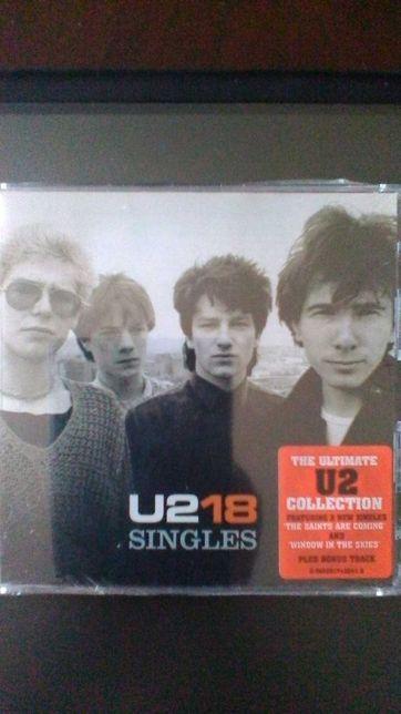 U2--U2 -18 Singles Cd Novo ainda SELADO