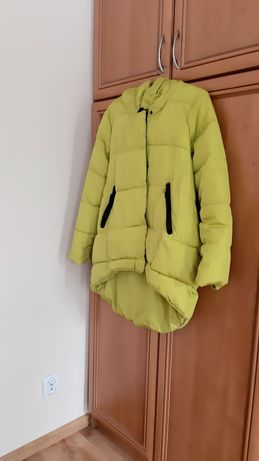 Kurtka zimowa damska z kapturem r. XL