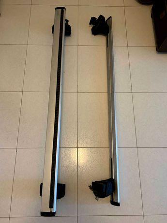 Barras Tejadilho Thule Wingbar + Kit Rapid System 754