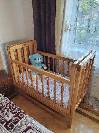 Ліжечко  дитяче дерев'яне