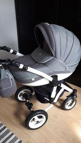Wózek Adamex 2w1 z akcesoriami, fotelik samochodowy Maxi Cosi Citi