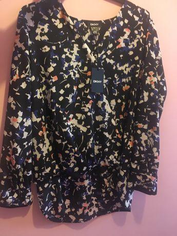 Koszula damska DKNY bluzka czarna oryginalna L
