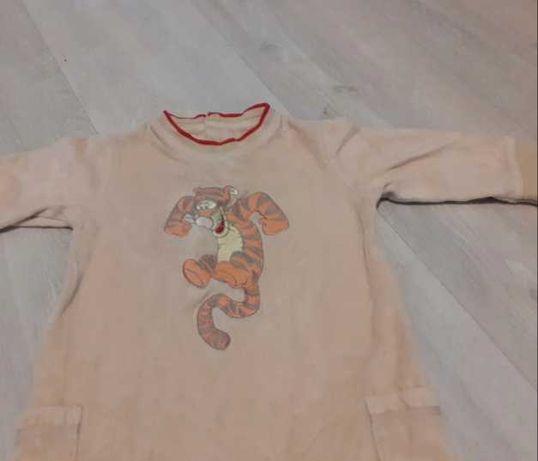 Disney pajac piżama Tygrysek 74-80