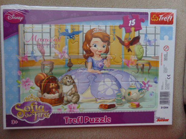 Puzzle Disney - Jej Wysokość Zosia nowe
