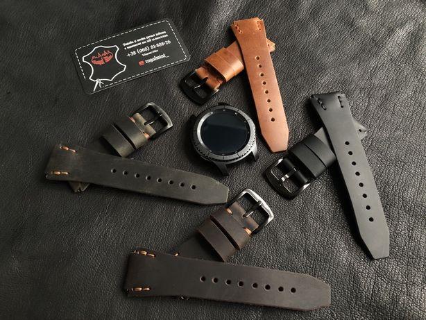 Ремешок для часов из кожи Samsung Gear S Classic Frontier