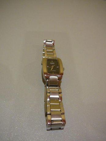 Zegarek CASIO QUARTZ Water Resist czarny DAMSKI na prezent dla kobiety
