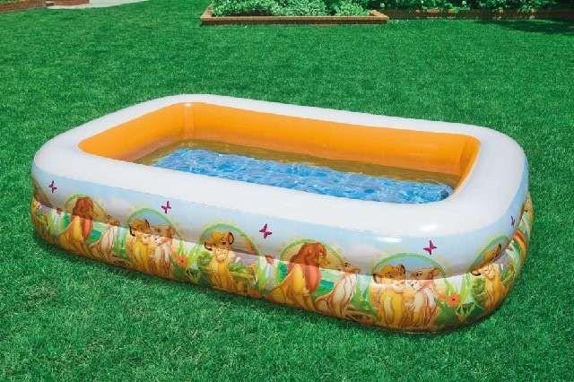 Детский надувной бассейн басейн Король Лев Intex Дисней