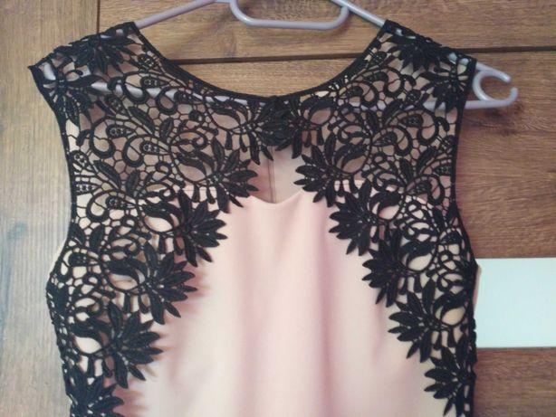 Sukienka beżowa rozmiar S