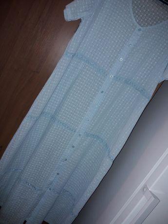 Продам платье -халат из хлопка 54-56 размер