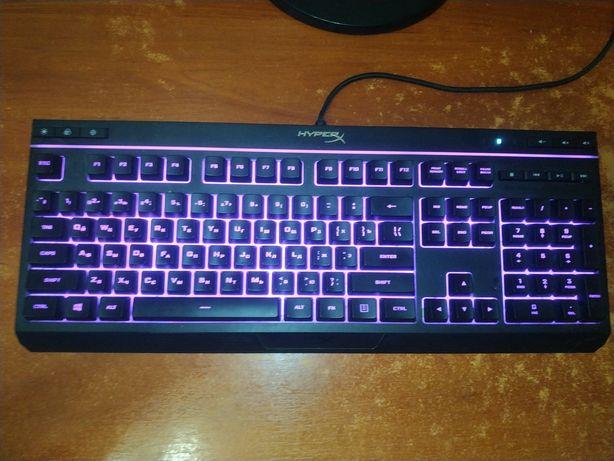 Продаётся клавиатура HyperX alloy core rgb gaming