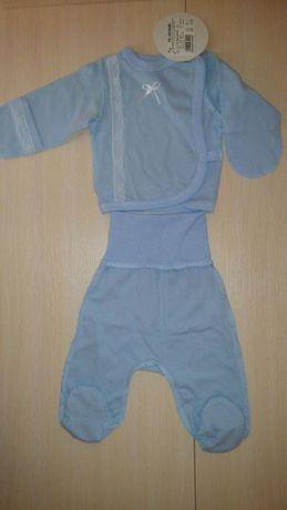 Нарядный костюмчик костюм маловесному недоношенному ребёнку 50 р.