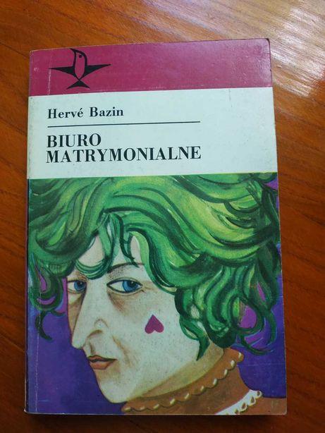 """Sprzedam książkę """"Biuro matrymonialne"""" Bazin"""