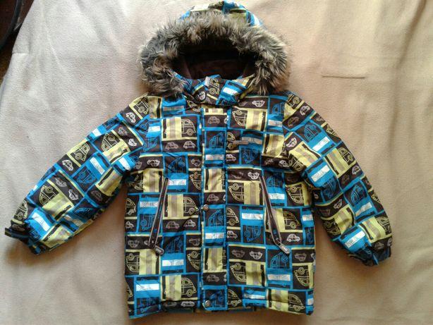 Комплект куртка Lenne 110 полукомбинезон шапка