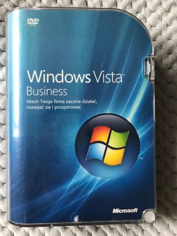 Windows Vista Business PL BOX Polish DVD