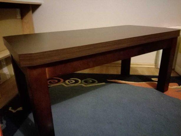 Stół wenge jak nowy stolik kawowy