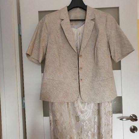 Sukienka z bolerkiem rozm 48