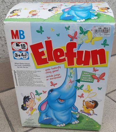 Elefun, słoń z motylkami, gra, Hasbro, na baterie