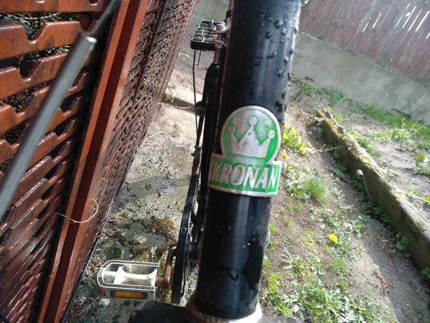 Dwa rowery szweckiej firmy KRONAN do renowacji