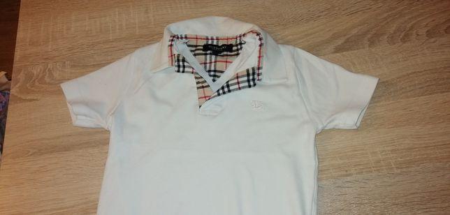 Bluzka polo Burberry