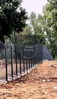 Panel ogrodzeniowy, h-1,73m, fi5mm, 5x20, panele, ogrodzenie panelowe