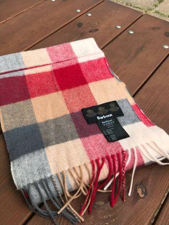 шерстяной шарф Barbour, не Burberry