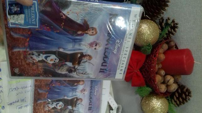 Kraina lodu II dvd, wydanie z plakatem, folia, sklep, od ręki