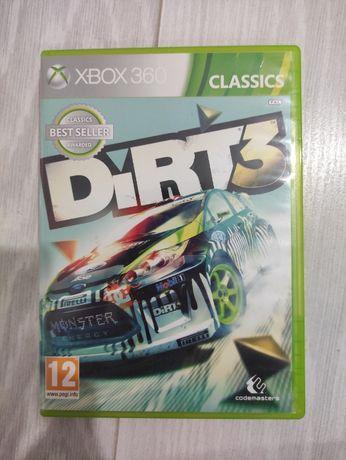 Xbos 360 gra pudełkowa Dirt 3
