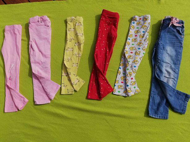 Legginsy, spodnie dla dziewczynki