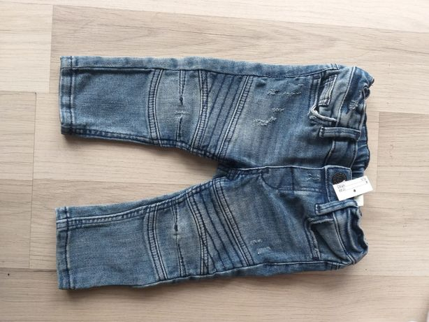 Nowe jeansy h&m 68