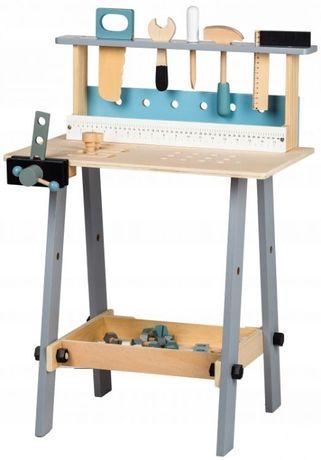 Drewniany warsztat z narzędziami - 32 elementy
