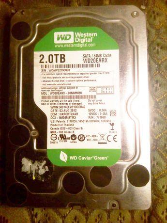 Жесткий диск HDD 2Tb WD SATA3