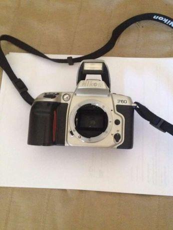 Nikon F60 nova com lente 35 - mm