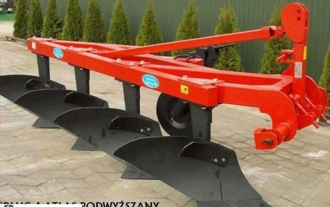 Pług 4 Atlas podwyższany pługi 4x40cm DEMAROL Nowe transport