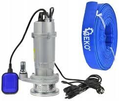 Pompa SITO do wody brudnej i czystej 2450W MATRIX+50 metrów węża