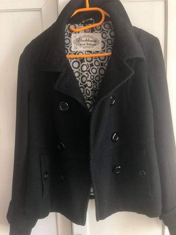 Płaszcz czarny C&A Clockhause roz. 38 M