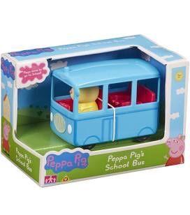 Świnka Peppa autobus szkolny