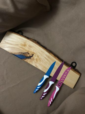 Магнітний тримач з дерева для ножів. МАГНИТНЫЙ ДЕРЖАТЕЛЬ ДЛЯ НОЖЕЙ