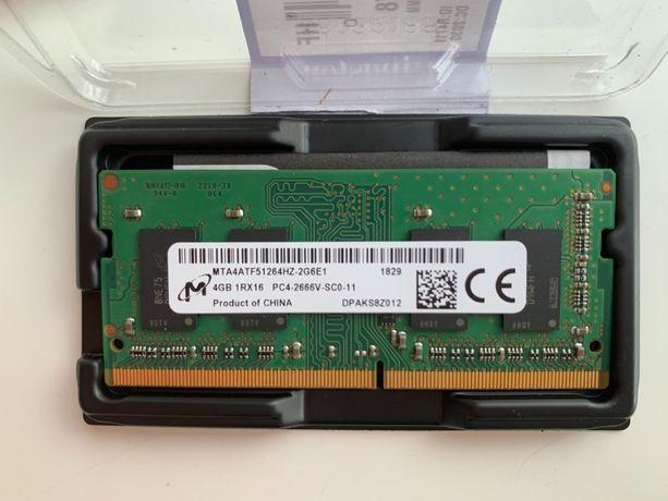 Память для ноутбука KINGSTON DDR4 2666 4GB SO-DIMM