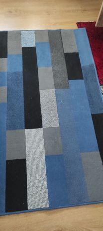 Tapete azul e cinzento 150x210 em muito bom estado