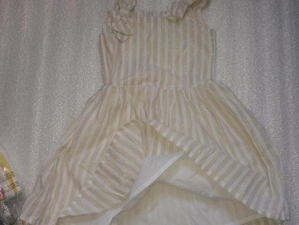Новое платье-сарафан нарядное Gymboree 4-5 лет