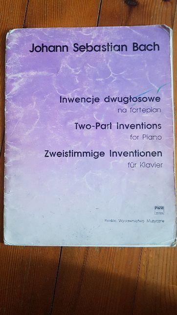 J.S. Bach Inwencje dwugłosowe na fortepian PWM