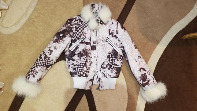 Куртка осень-весна на девочку подростка
