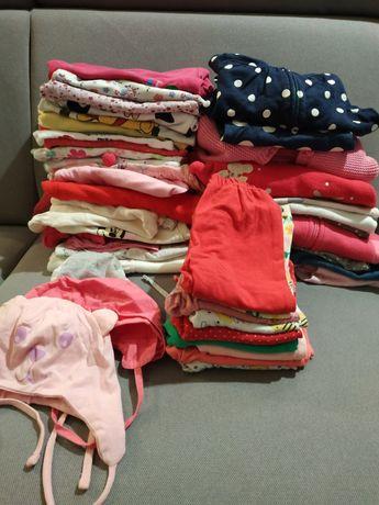 Paka zestaw ubrań 62-68. Body, bluzy, leginsy